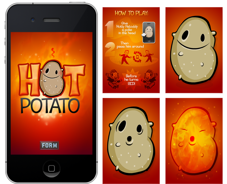 Hot Potato iPhone App